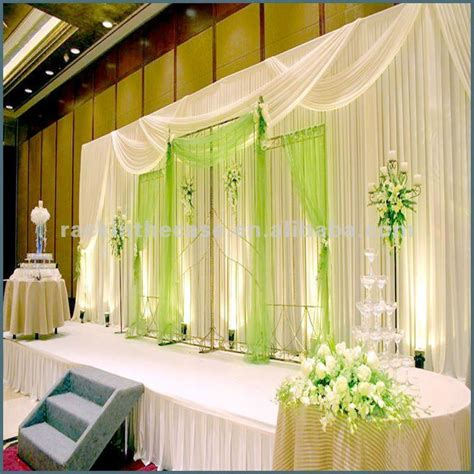 wedding decoration curtains rk good selling wedding stage decoration wedding curtain