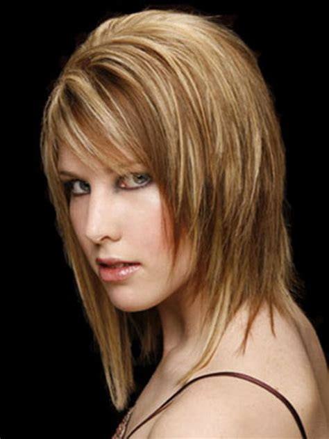 layered choppy mid length hairstyles for women with oblong faces over 50 medium choppy layered haircuts