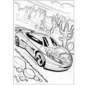 Kleurplaten En Zo &187 Van Hot Wheels