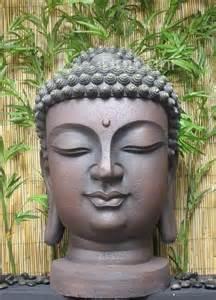 buddha kopf garten 23 quot buddha outdoor garden statuary garden statues