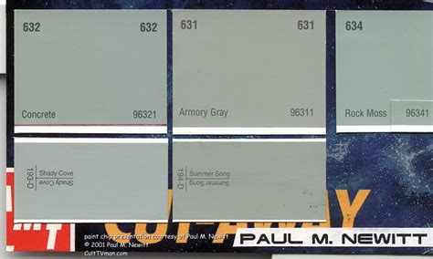 what color is the classic enterprise by paul m newitt