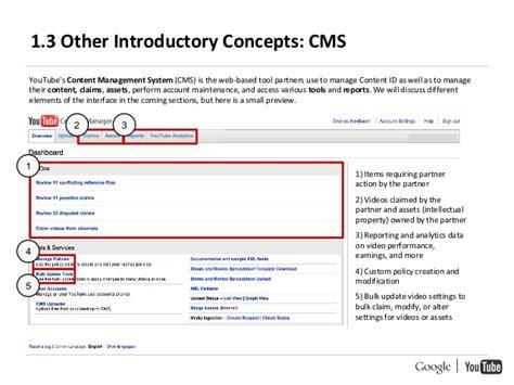 design management youtube youtube content id handbook google