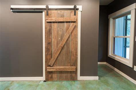 broom closet with barn door eclectic closet other