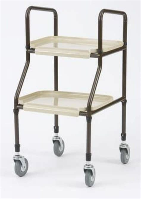 Kitchen Mobility Aids by New Adjustable Height Mobility Kitchen Trolley Walker