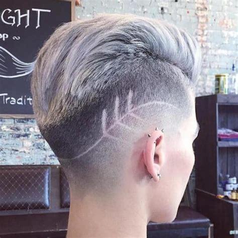short hair cut fades on women 60 cute short pixie haircuts femininity and practicality
