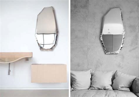 unusual mirrors oskar zieta tafla mirrors unusual form reflects your
