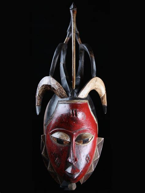 Masker Ibs africa one of a ivory coast guro mask