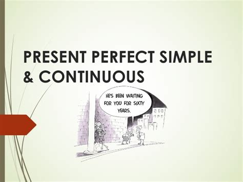 present perfect continuous ticleando present perfect simple continuous