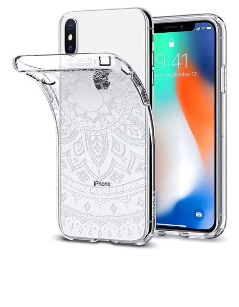 Spigen Liquid Iphone X Clear Original spigen liquid shine clear for iphone x cases protectors mobile phones