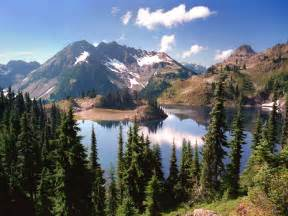 Hart lake in the heart of the olympic mountains 187 free desktop hd