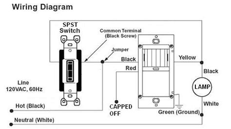motion sensor light switch wiring diagram wiring diagram