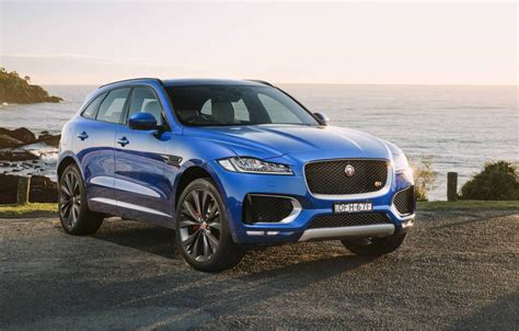 jaguar f pace jaguar f pace now on sale in australia from 74 340