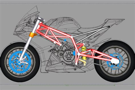 design frame motorcycle sheeking motorcycle blogs sv650 chassis design concept