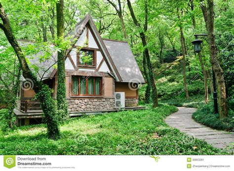 houses in the woods little house in the woods stock image image 30853281