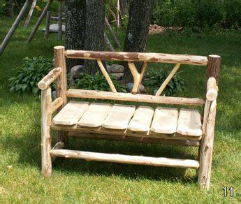 cedar log bench wood furniture pinterest images made of branches cedar log benches benches chairs handcrafted log furniture by