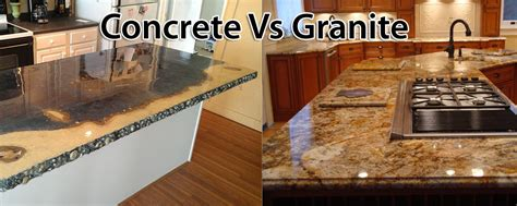 Concrete Countertops Prices Vs Granite by Concrete Countertops Cost Vs Granite Home Design Interior