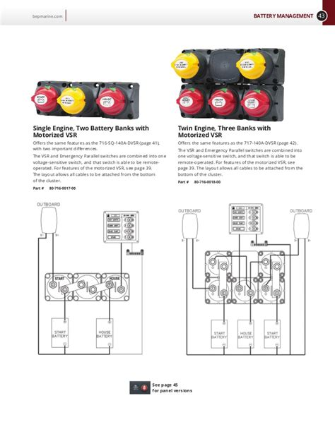 bep marine battery switch wiring diagram marine battery