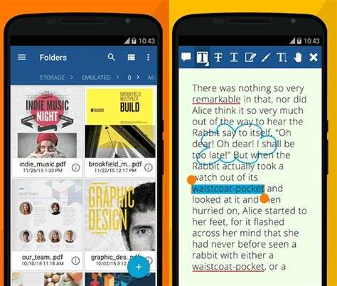 best free pdf reader for android top 5 free pdf readers for android