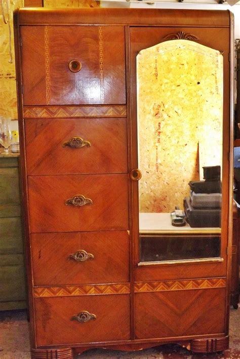 antique bedroom furniture value united furniture corporation nc depression era wardrobe
