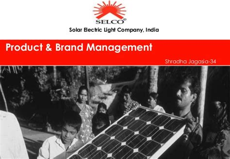 Selco Solar Products Marketing Selco Solar Light