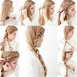 cool easy step hairstyles 15 pretty and easy to make hairstyle tutorials