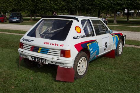 peugeot turbo 2016 peugeot 205 turbo 16 2016 chantilly arts elegance