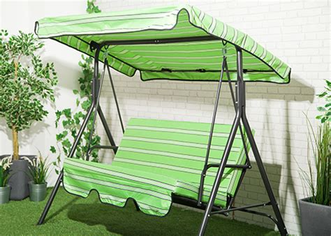 replacement canopy for swing hammock lime stripe waterproof 3 seater replacement canopy for