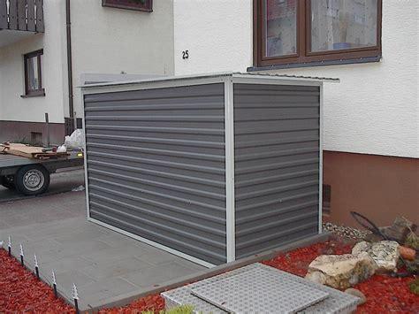 Motorrad In Garage Sichern by Motorradgarage Kleingarage Mit Metallrollo Agur Trailer