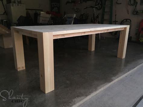 modern farm table diy modern farmhouse table as seen on hgtv open concept