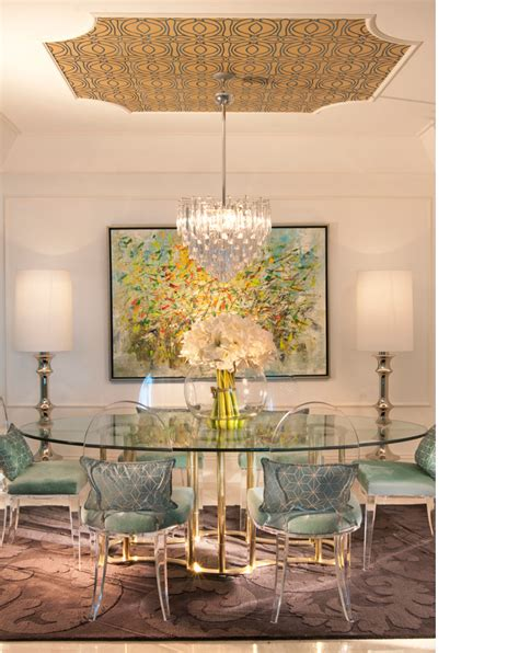 Modern Chic Dining Room by Dining Room Table Decosee