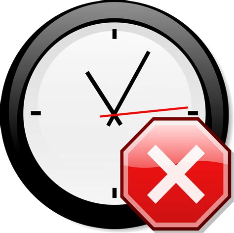 Stop X file stop x nuvola with clock svg wikimedia commons