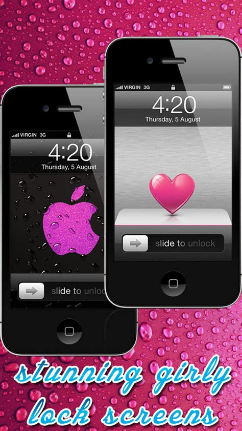 girly home screen wallpaper girly lock screen wallpaper wallpapersafari