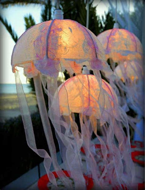 Jellyfish Home Decor by 36 Breezy Inspired Diy Home Decorating Ideas