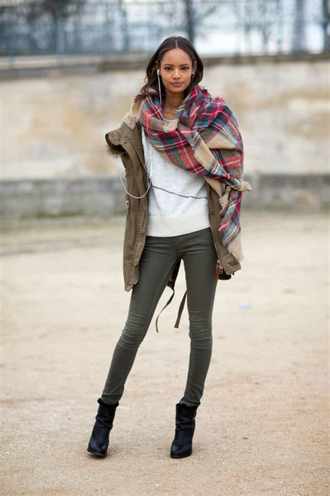 street style hair scarves the oversized scarf trend alert fashion tag blog