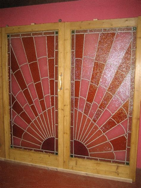 stained glass room dividers antique deco stained glass room divider antiques co uk