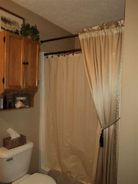 canopy shower curtain 25 best ideas about two shower curtains on pinterest