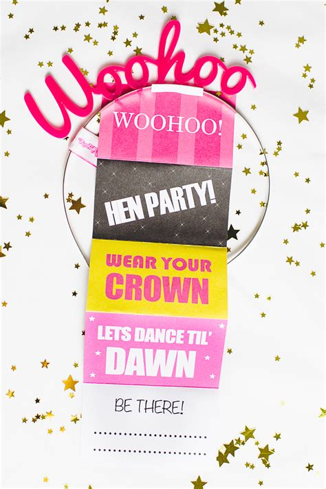 free printable hen party decorations free printable hen party invites invitations bachelorette