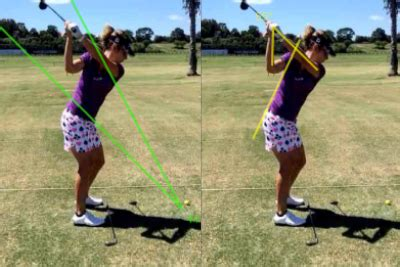 golf swing lines golf swing video analysis automatically draw swing plane