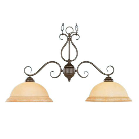 Gold Kitchen Island Lighting Shop Millennium Lighting Manchester W 2 Light Burnished Gold Kitchen Island Light With Shade At