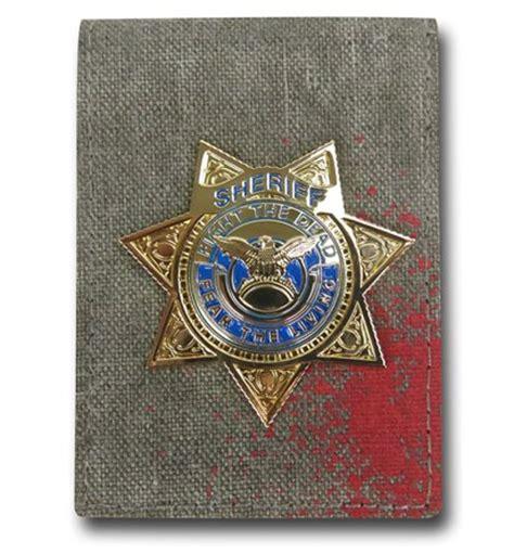 dead s badge books walking dead badge wallet