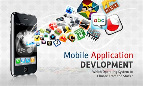 mobile software application which operating system to choose from the stack