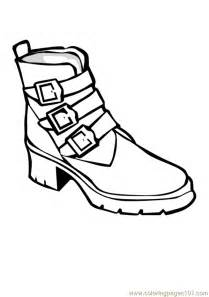 coloring shoes coloring pages tennis shoes cooloring
