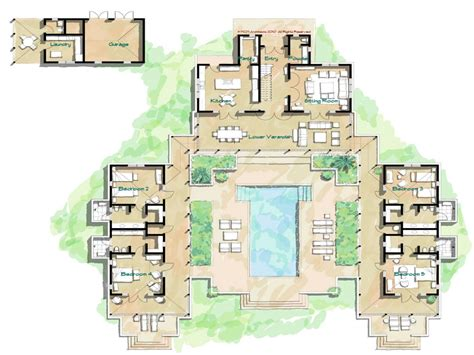 hacienda style house plans hacienda style home floor plans spanish style homes