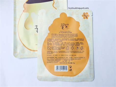 Rorec Korea Mask rorec nourish honey mask review tep tries new stuff