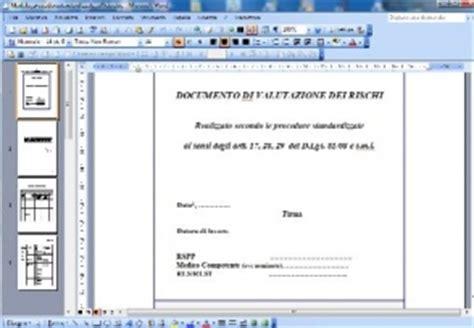 esempio dvr ufficio www certificazione info raccolta modelli dvr procedure