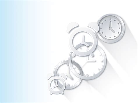 powerpoint themes clock hours watches and clock powerpoint templates arts
