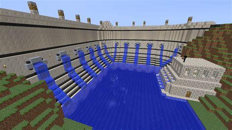 house ideas minecraft minecraft building ideas dam