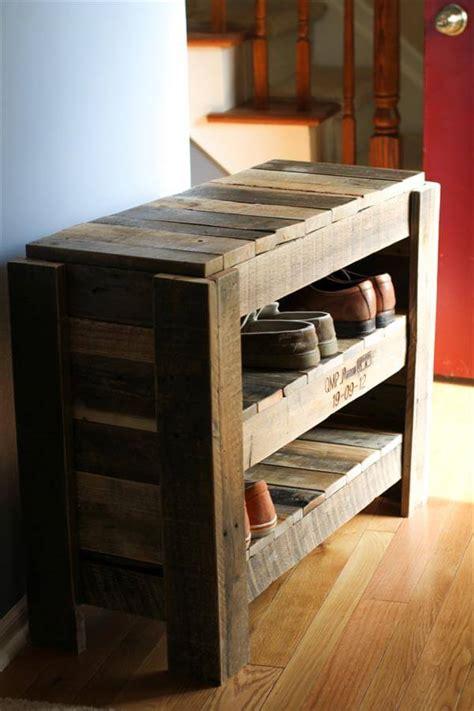 Vintage Wood Spice Rack Pallet Shoe Rack 101 Pallets