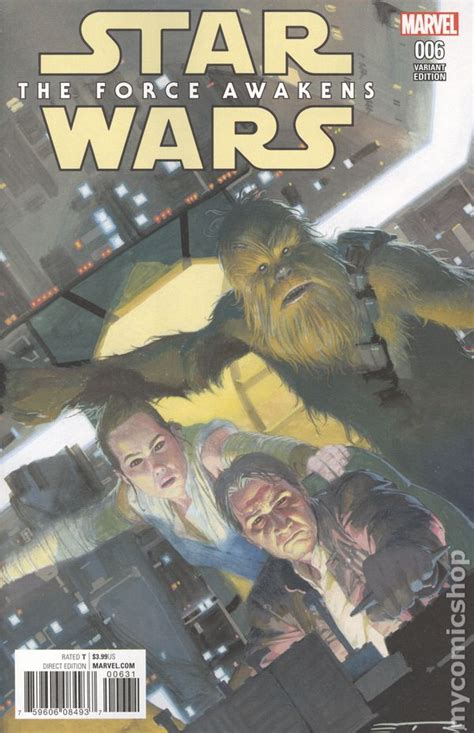 wars the awakens adaptation books wars awakens adaptation comic books issue 6