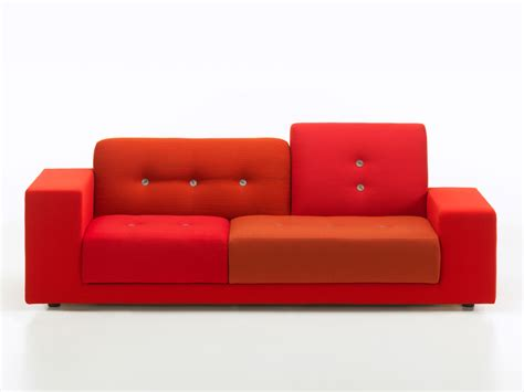 compact sofa buy the vitra polder compact sofa red at nest co uk